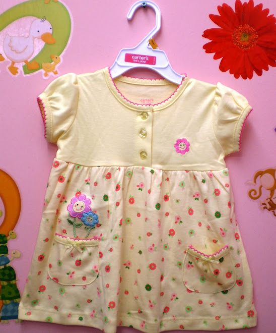 Carters Smiley Dress ----  Price:RM25