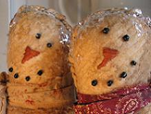 snowman & wife