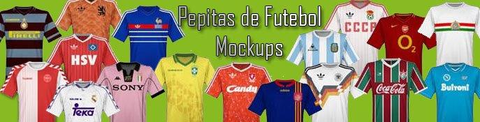 Pepitas de Futebol - MockUps