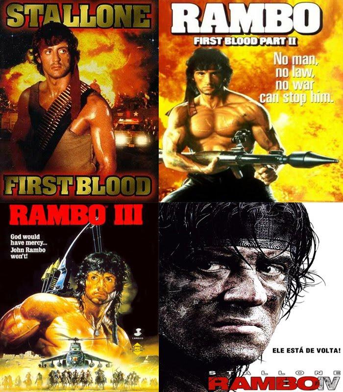 Coleção Rambo Dublado