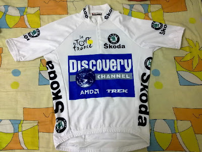 2011 tour de france jerseys. Discovery Tour De France White