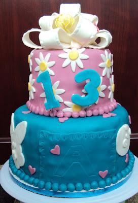 13 Year Old Cake