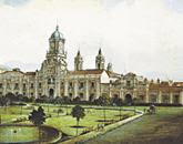 torre caracteristica del palacio de la Real Audiencia