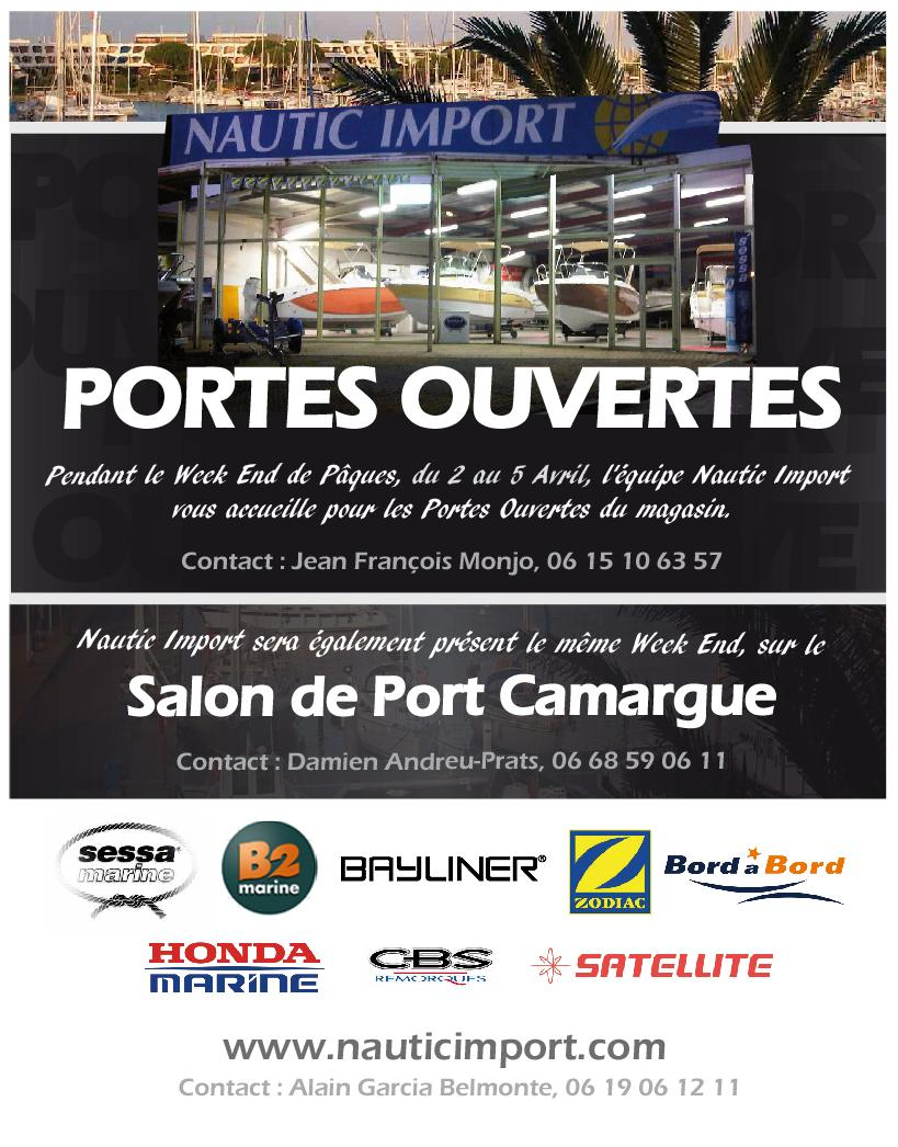 G marius nautic import post 3 for Porte ouverte patrouille de france salon