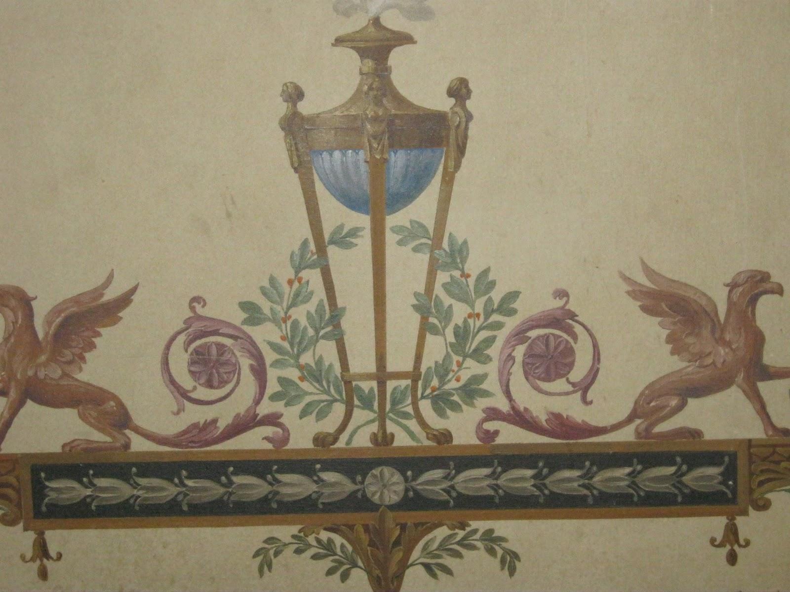 Modern fresco sacred heart latin hunts for ancient architecture - Moderne fresco ...