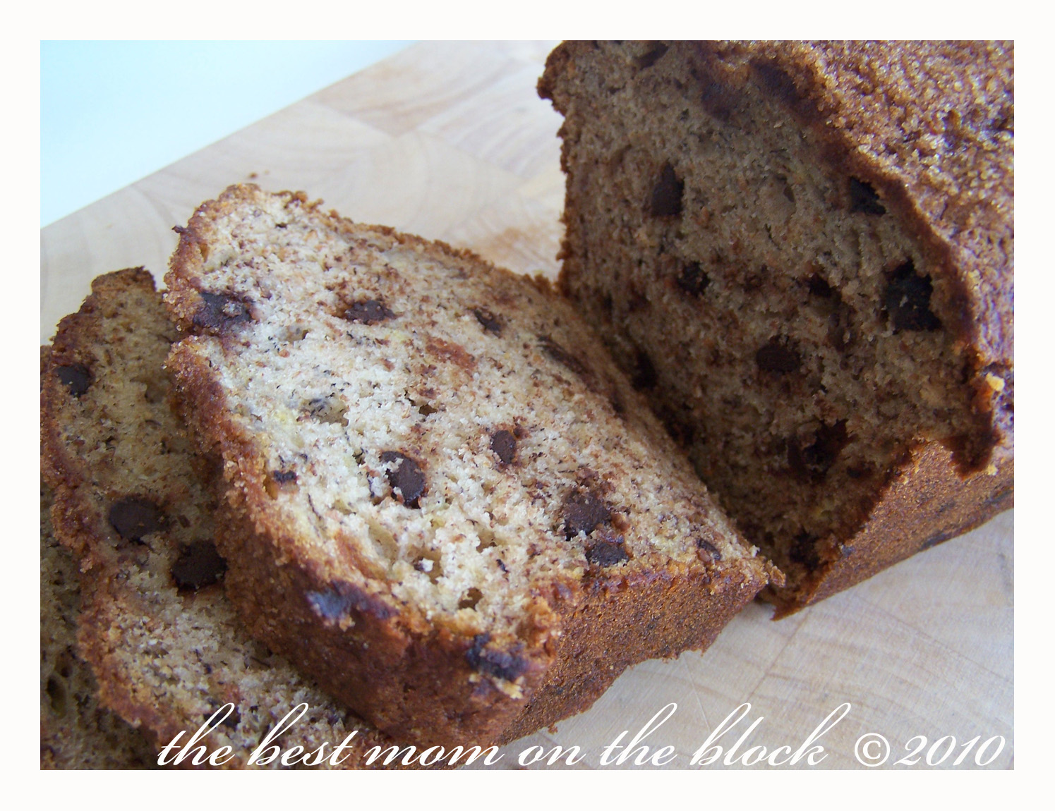 The Best Mom on the Block: Granny's Banana Bread (with a twist)