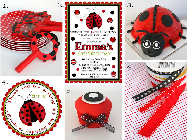 Resep e Bunda: {Party Planning} Ladybug Party Ideas and Inspirations