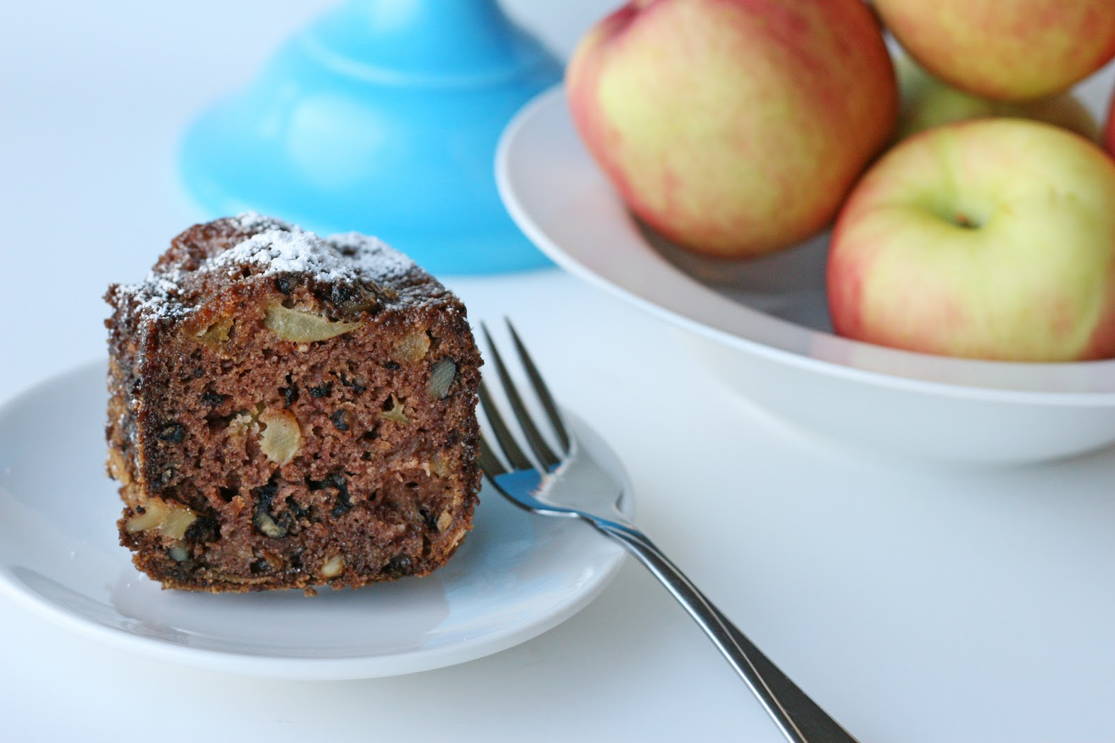No Peel Apple Cake