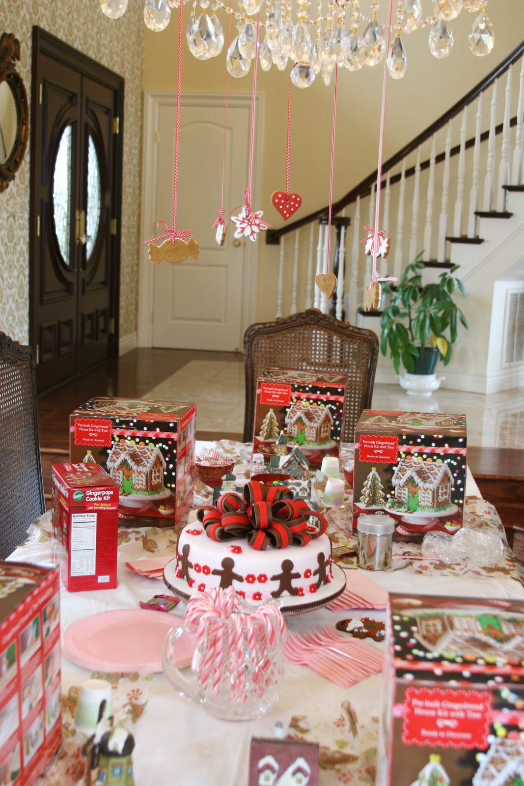 Delightful Christmas House Party Ideas Part - 13: {Sweet Parties} A Gingerbread Party