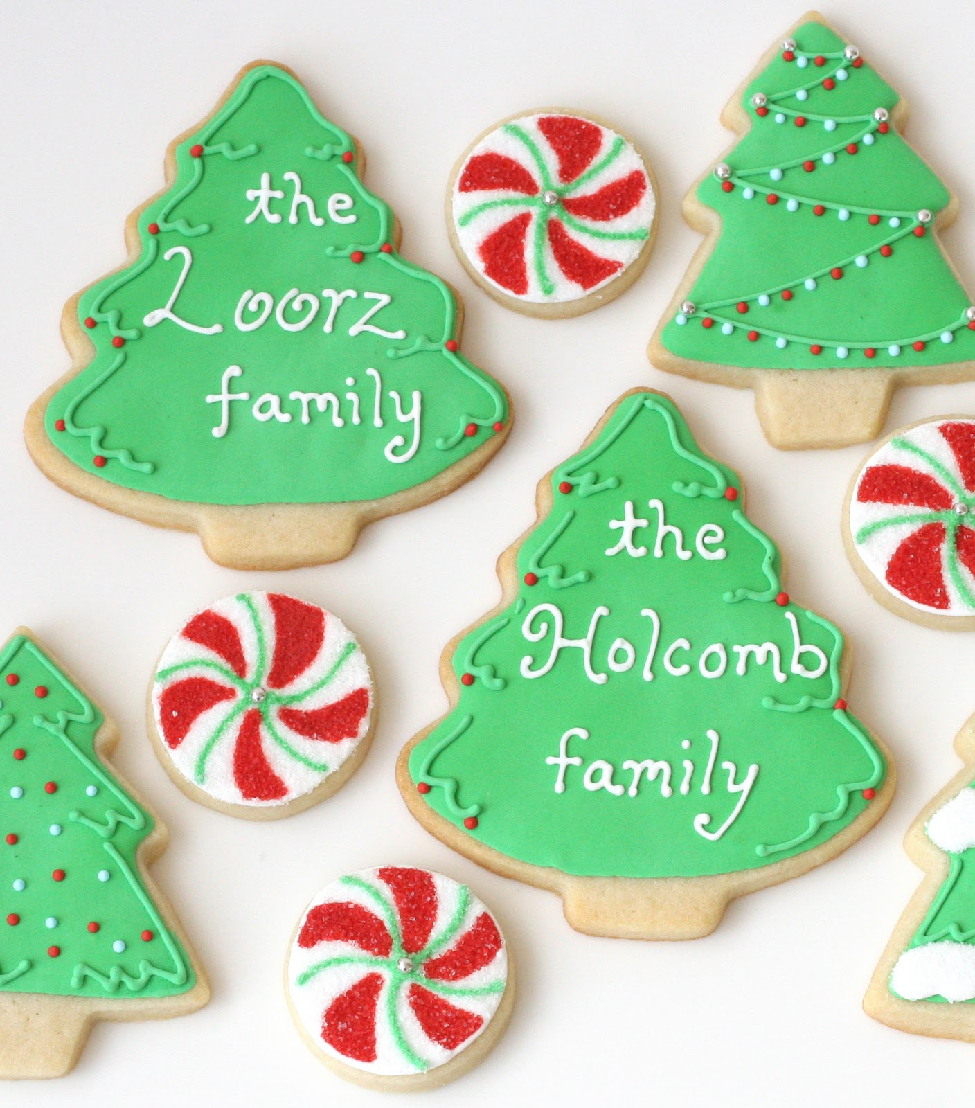 christmas cookie decorating frosting