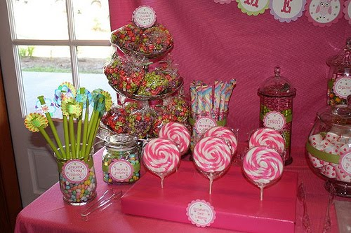candy buffet containers. Renting containers is also an