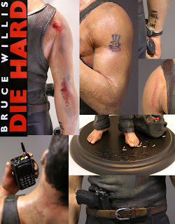 1/6th scale Bruce Willis / John McClane Statue from Die Hard