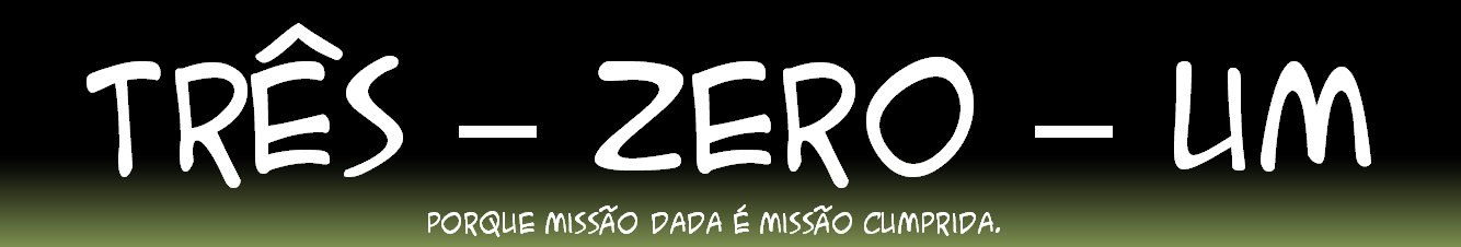 Três - Zero - Um