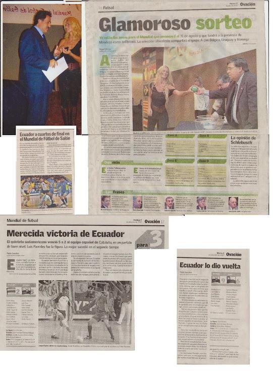 IX CAMPEONATO MUNDIAL DE SELECCIONES NACIONALES ARGENTINA 2007