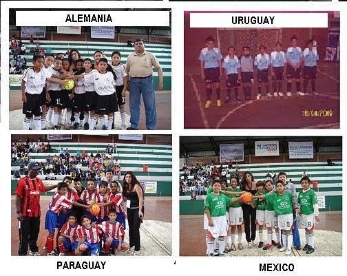 ALEMANIA - URUGUAY - MEXICO y PARAGUAY CLASIFICARON A LAS SEMIFINALES DEL TERCER MUNDIALITO