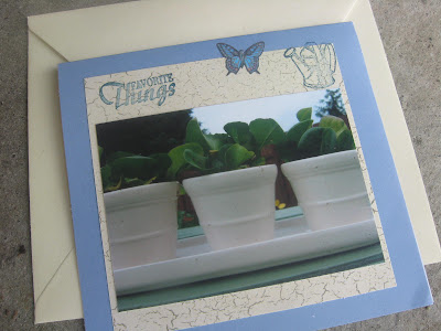 Homemade Garden Card