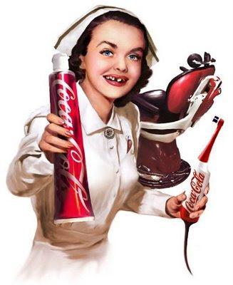 Efeito coca cola dentes