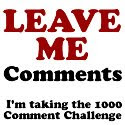 commentmay The 1000 Comment Challenge