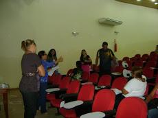 Oficina realizada na Escola José Ribamar Batista - EJORB