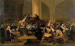 Cuadro de Goya-Santa Inquisición