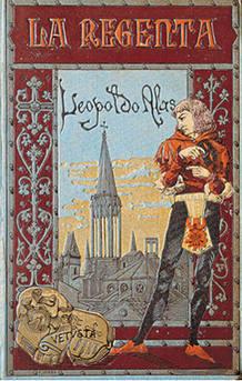 La Regenta. Portada de la primera edición. Barcelona 1884.