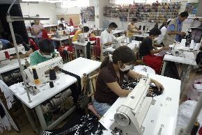 Apparel industry in Peru. Photo: ANDINA/ Alberto Orbegoso
