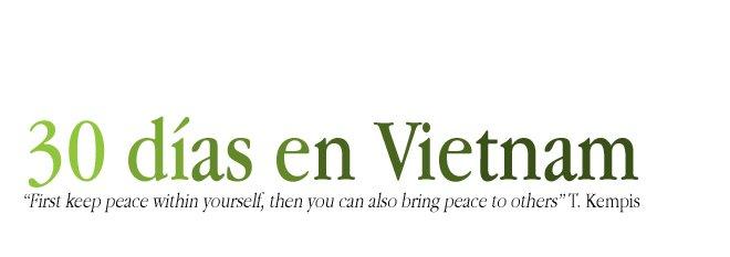 30 días en Vietnam