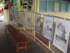 Exposição de Artes (desenho: pastel seco sob canson)