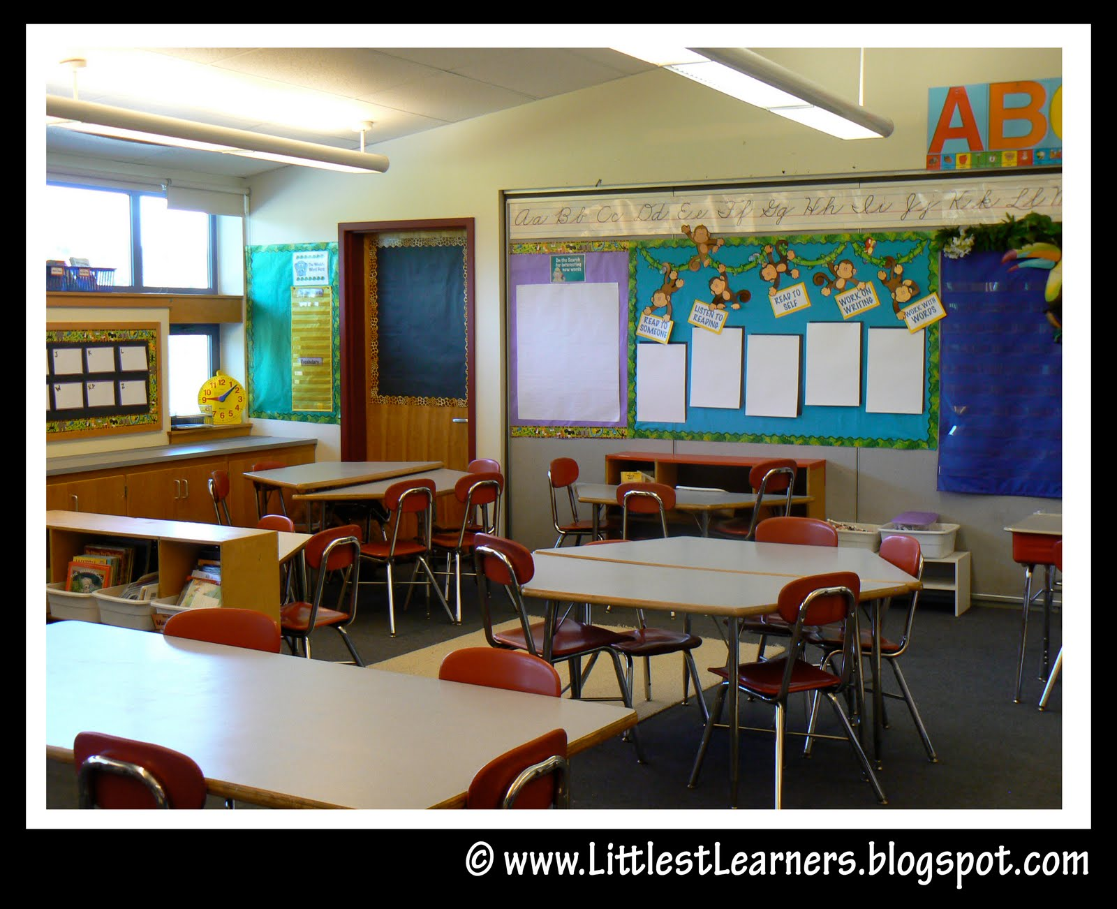 Monkey Classroom Decor ~ Jungle safari themed classroom ideas printable