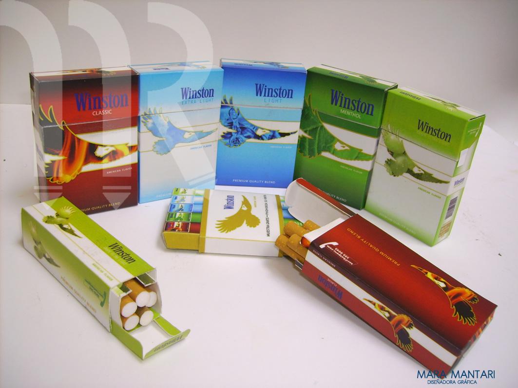 Cigarrillos WINSTON