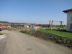 Grundstück Anfahrt