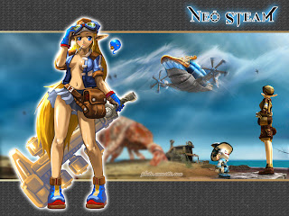 Neo Steam - Steampunk MMO wallpaper