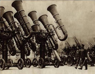 steampunk cannons