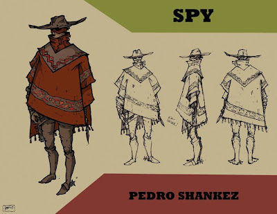 Spy - steampunk character concept by JPowersDesign