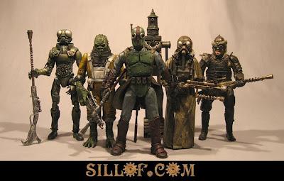 Sillof's steampunk action figures - star wars2