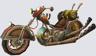 Mechano Hog With Sidecar a Mechano Hog With Sidecar