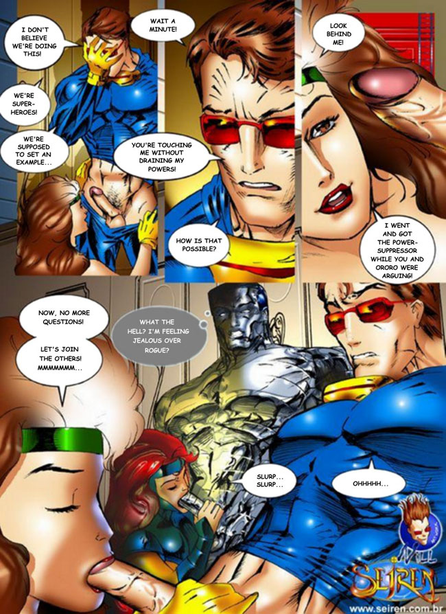 X-Men Hentai Super Orgy