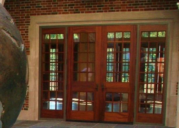 Custom stile and rail wood doors for Wood stile and rail doors