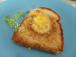 Pão de forma com ovo! 1