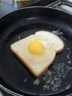 Pão de forma com ovo! 5