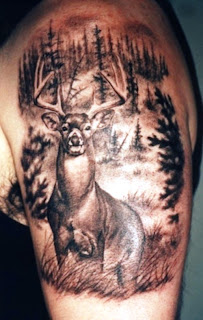 http://allaboutbodyart.blogspot.com/ deer_tattoo_half_sleeve_tattoo_for_men