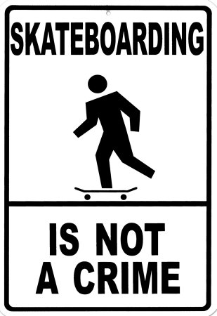 Skateboarding is not a crime deck