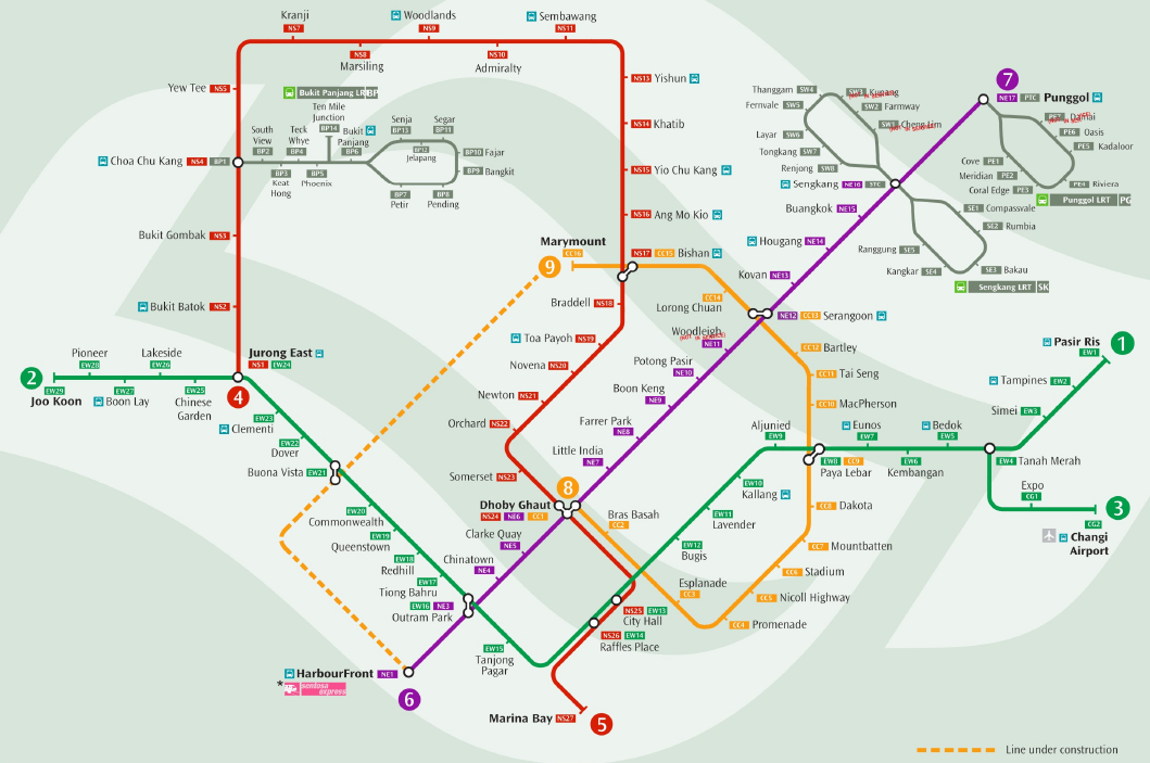 Interesting Speculative Singapore MRT Maps | Why You So Free Lately ?
