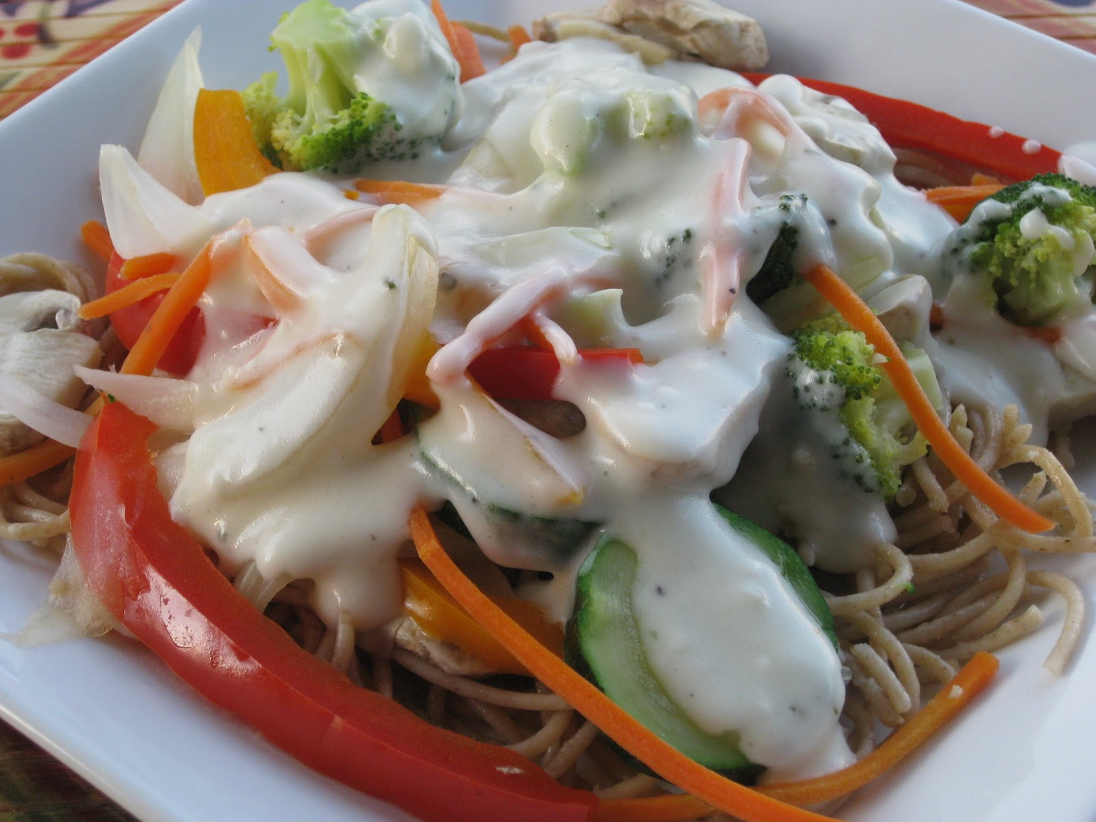 Juicing for the Health of It!: Turkey and Vegetable Pasta ...