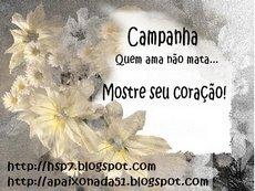 Selo_ Campanha, quem ama não mata...