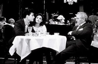 Paul Newman, Tom Cruise, & Mary Elizabeth Mastrantonio. The Color of Money. 1986. photo Touchstone.