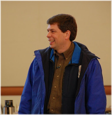 Mark Begich at banquet. April 7, 2008. photo source unknown.