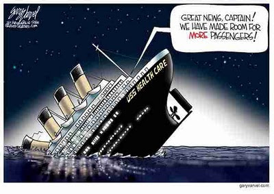 obamacare sinking 