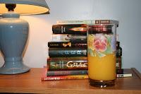 Books and Orange Juice