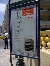 خريطة محطات ترام الرمل
